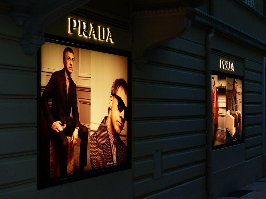Fashion brand Prada