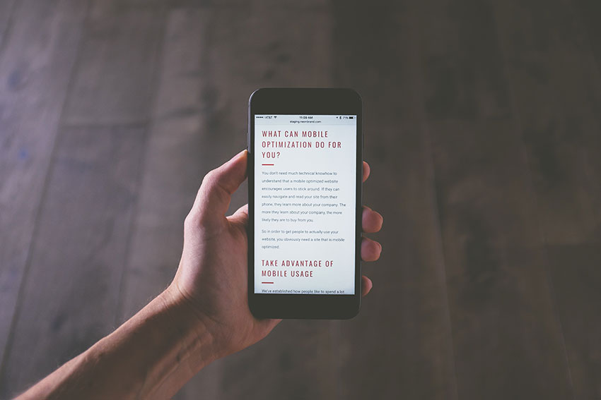 Different Options for Optimizing Websites for a Good Mobile SEO