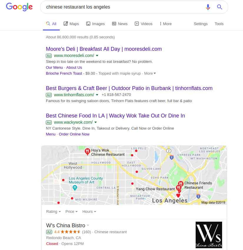 Local Search with Google My Business