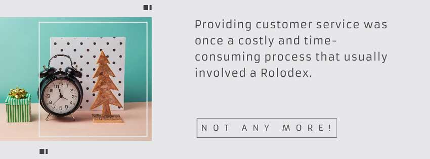 Customer service helps Efficient Time Management