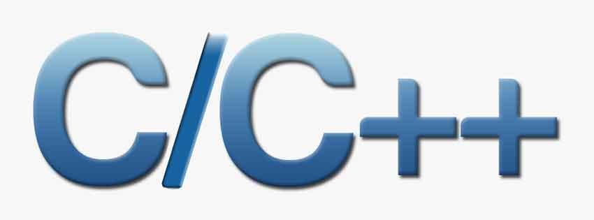 Top Programming Languages in 2020 - C/C++ programming language logo