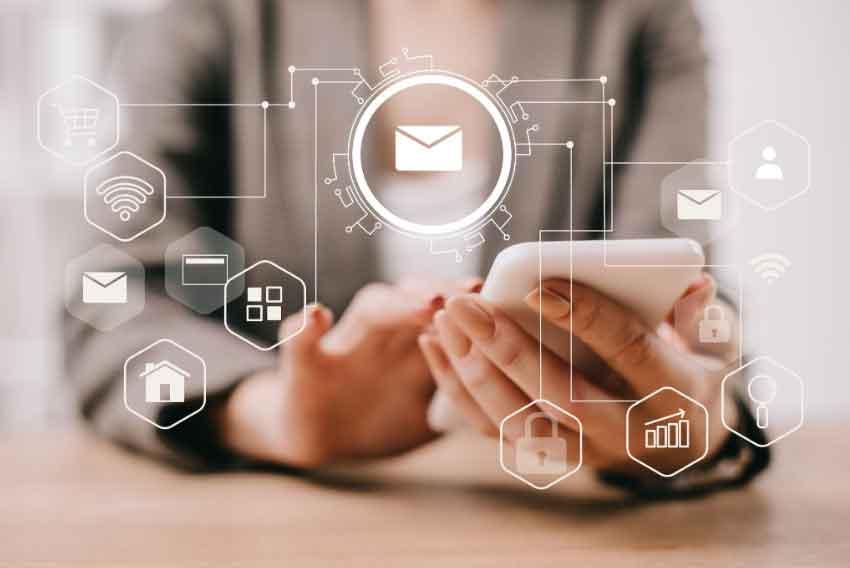 4 steps of inbound journey for email marketing?